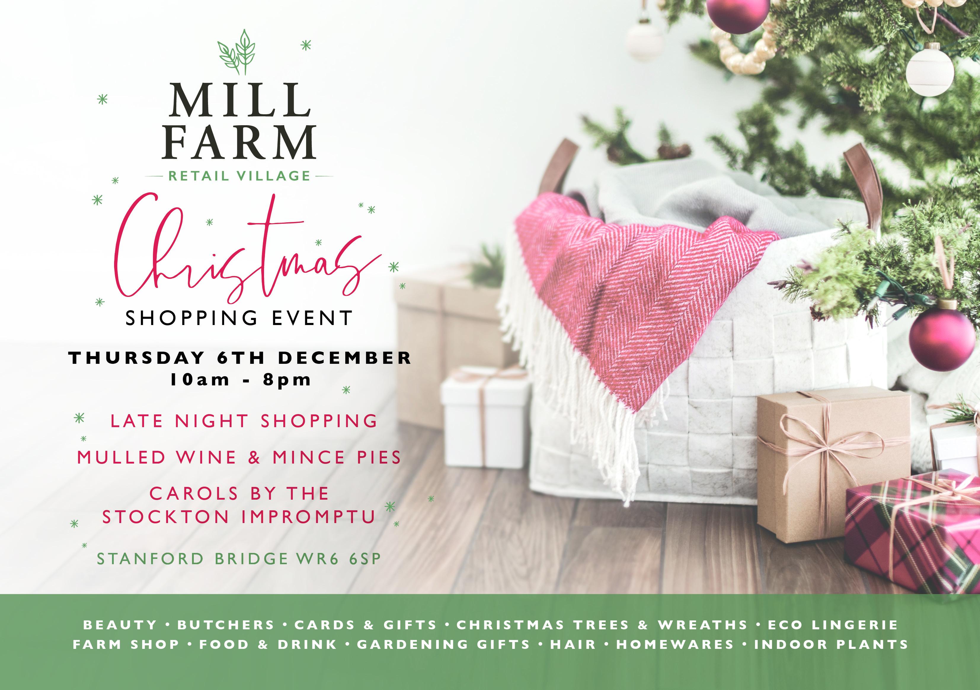 Mill Farm Christmas Event
