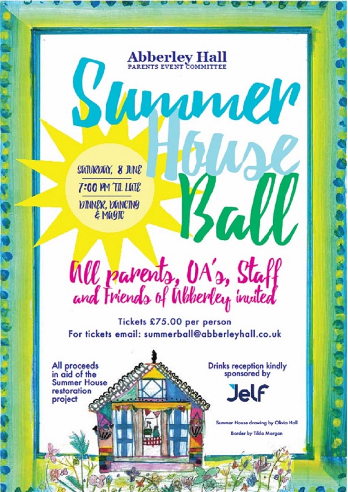 Abberley Hall Summer House Ball