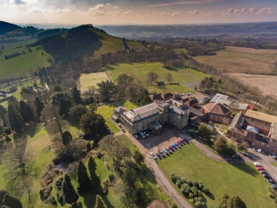 Gallery - Drone Pictures of Abberley Hall