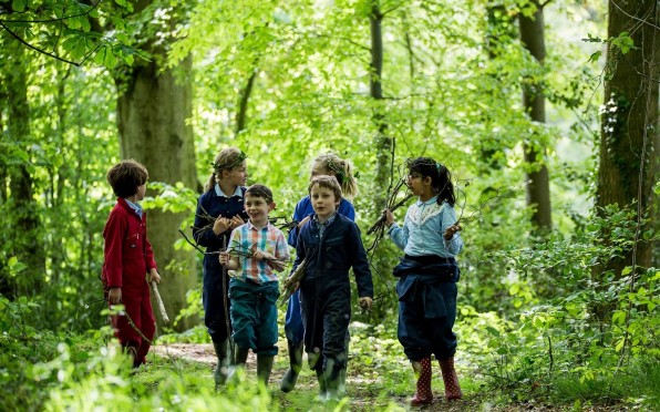 The outdoor environment enjoyed by the pupils at Abberley Hall