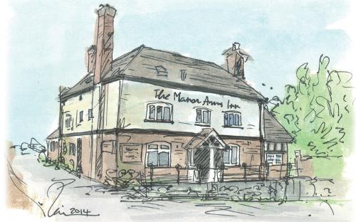 The Manor Arms, Abberley