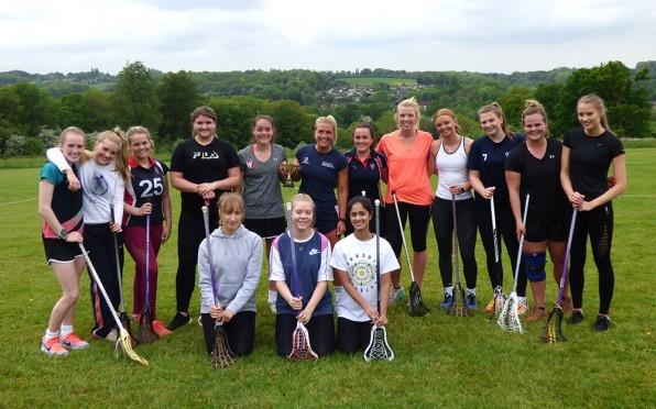 Old Girls Lacrosse Team