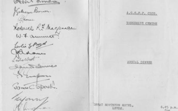 1948 Dinner Guest List