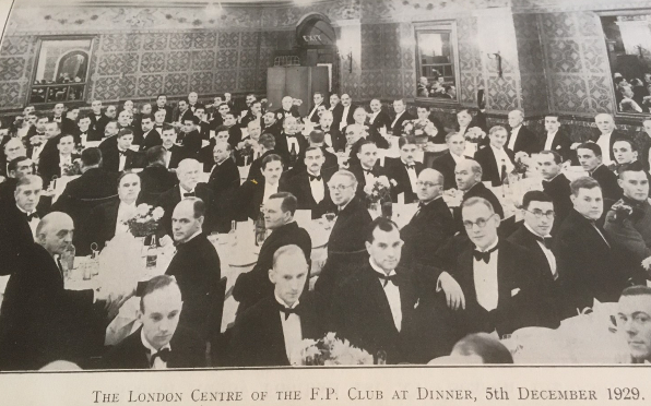 An early gathering of the London Centre (1929)
