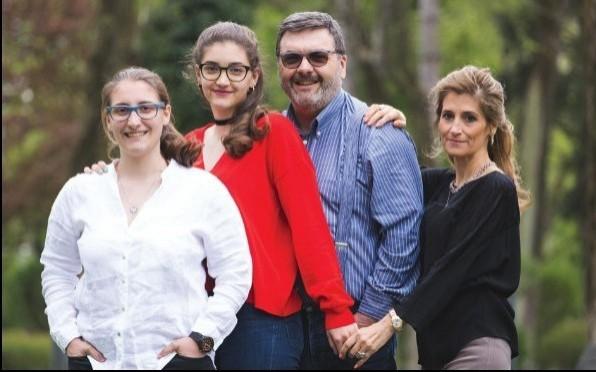 Fabiana and her Family