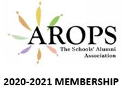 AROPS Membership 2020-21