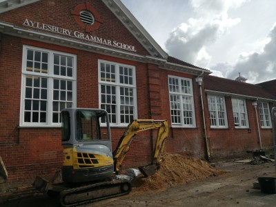 Gallery - New Entrance Building Works Summer 2021