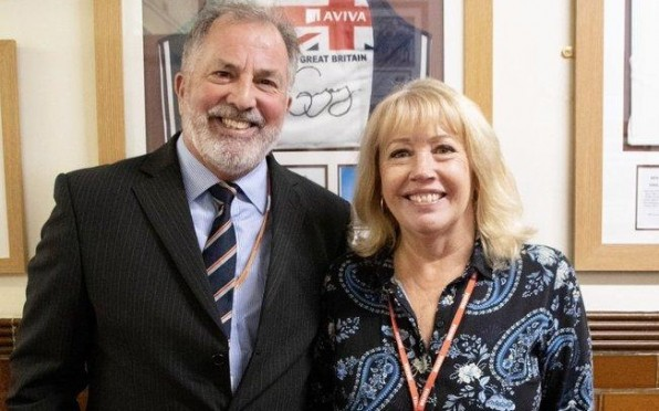 OA Lee Cobley and Anne Cobley