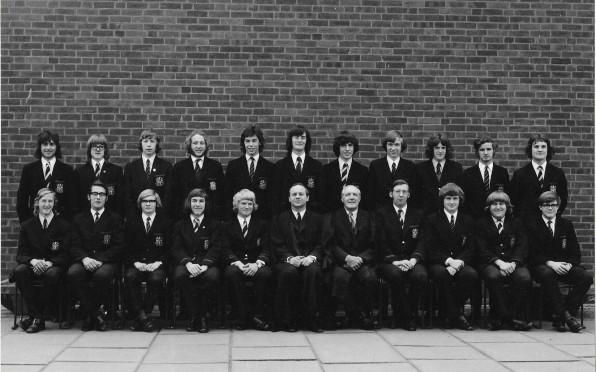 Student Leadership Team 1972-73