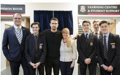 Opening of the Sixth Form Centre March 2017