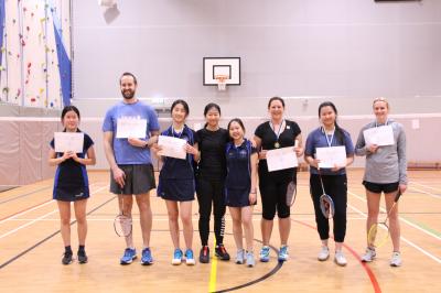 Gallery - Badminton Tournament!