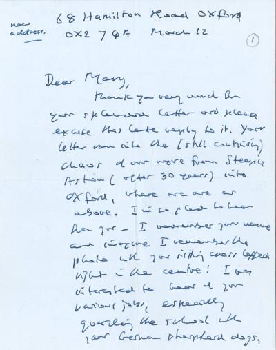 Gallery - Iris Murdoch Letters
