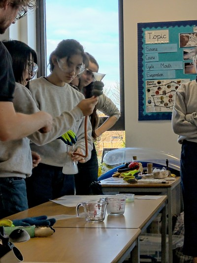 Gallery - Science Outreach at St Ursula's