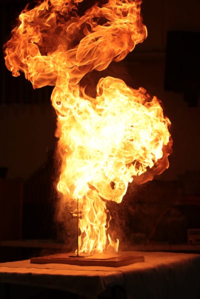 Gallery - Science Outreach's 'Flame-ous' Bangs and Flashes Show