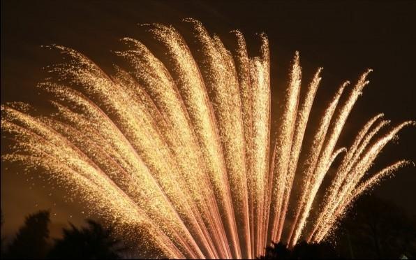 Badminton Fireworks Light Up the Sky!