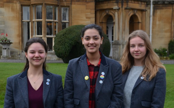 Head girls for new academic year