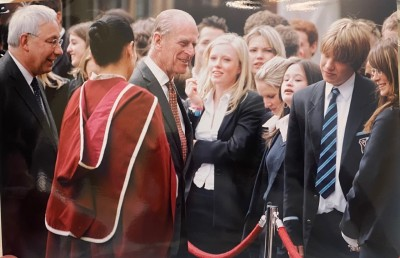 Gallery - Prince Philip visits to the School