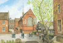 """""""Chapel and Lych Gate"""""""