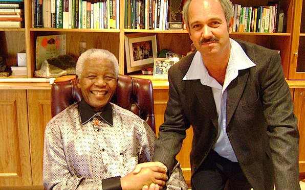 Christo Brand, former warder and close friend of Nelson Mandela.