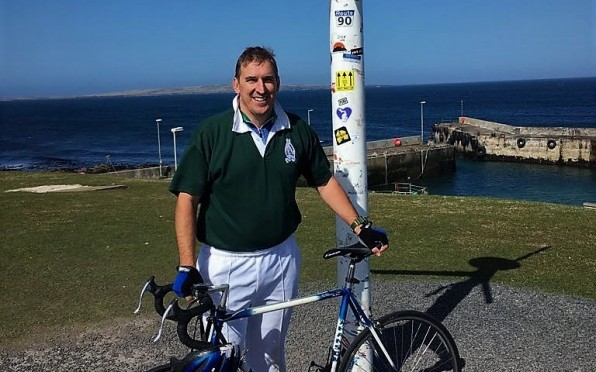 story image for OD Secretary Takes on England for Rhinos and Mendi Victims