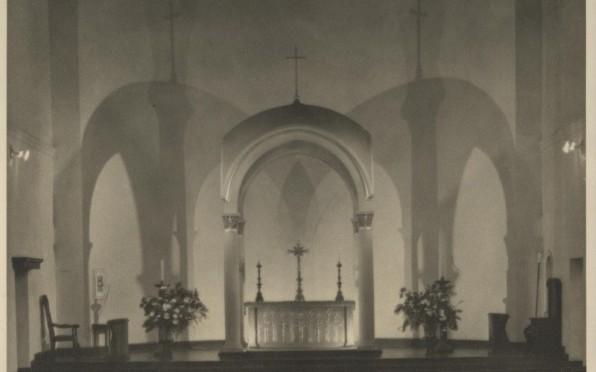 The Sanctuary of the War Memorial Chapel