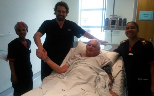 story image for Dr Griffith's first Angiogram
