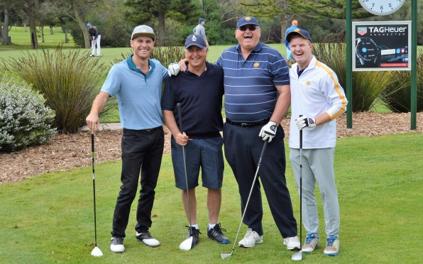 ODs and Rondebosch Old Boys about to tee-it-up