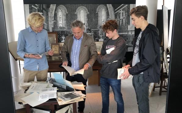 From Left to R; John van Niekerk, Mark Lewis, Thomas Janisch and Reevin Hermann.