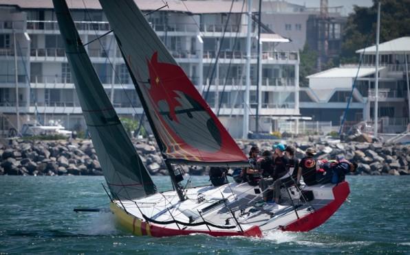 Keelboat racing