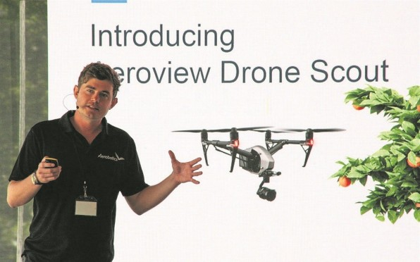Pest Detecting Drone Helps Farmers