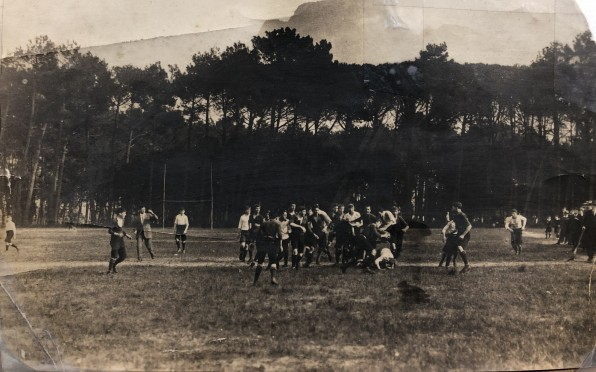 Rugby at Bishops in 1913