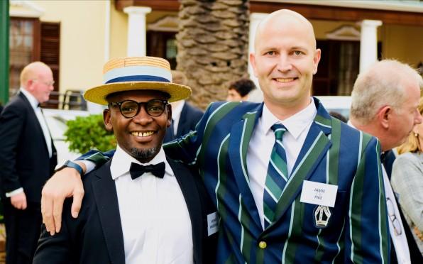 Phumzile Moshe, Khakhaza Mhlauli and Brian Huna
