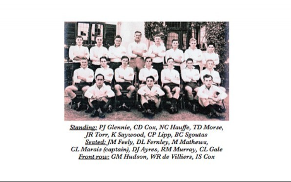 Bishop's 3rd XV rugby team of 1951