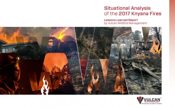 Cover of the Situational Analysis of the 2017 Knysna Fires