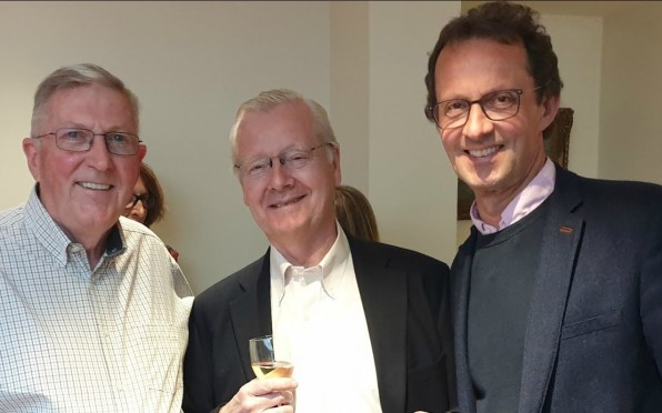 Peter Elliott, Peter Robinson and Jeff Foulser