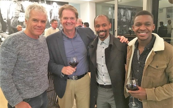 Rory Sales (1974G), Simon Grose (1977F), Taheer Mullins (2003W) and Mnotho Makhoba (2013S).