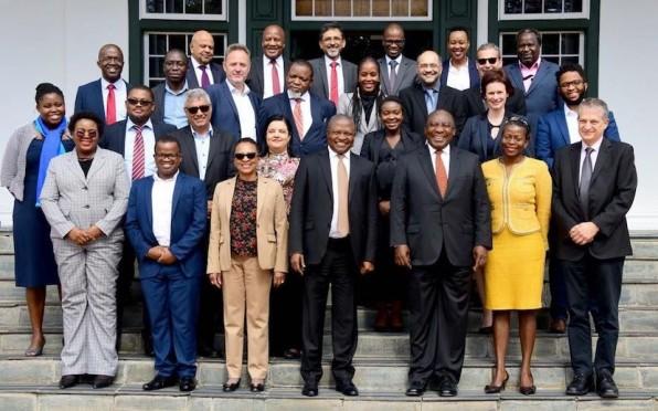 President Cyril Ramaphosa's new economic advisory council