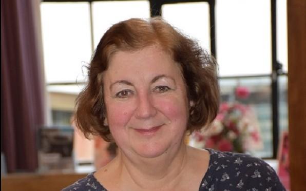 College Librarian and Archivist, Maggie Garrett