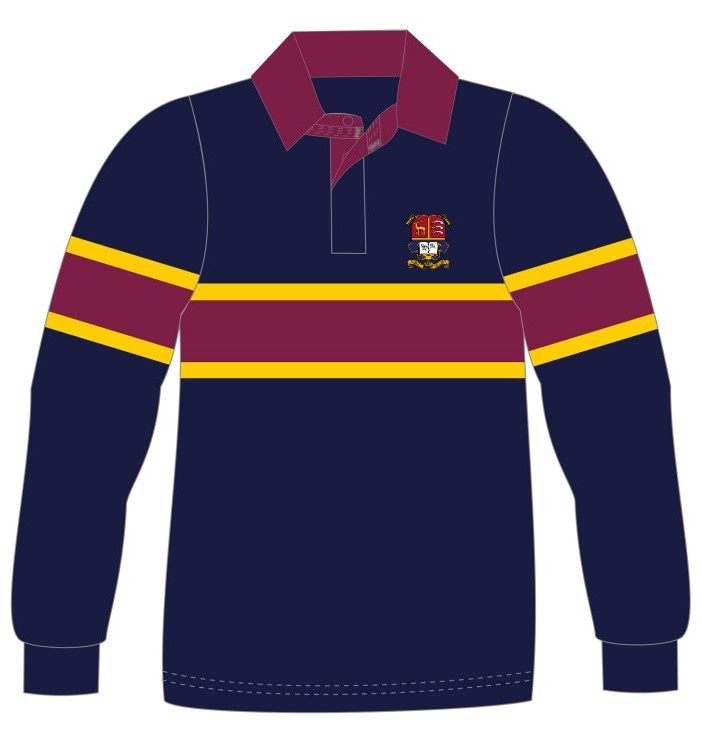Personalised Classic Rugby Shirt