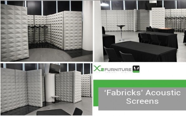 Acoustic screens that X2 Furniture have recently provided for Millennium Point