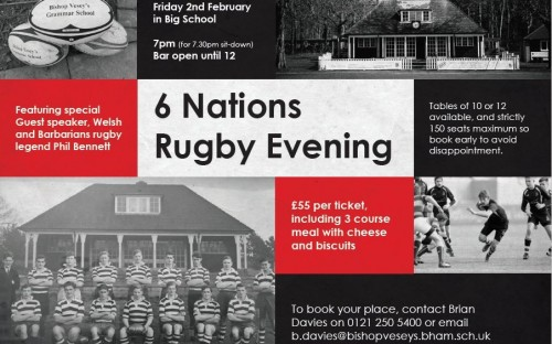 story image for Six Nations Dinner