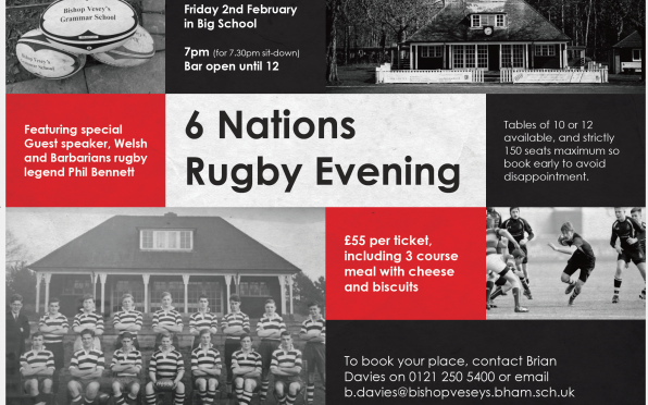 story image for Former rugby legend joins BVGS for special Six Nations dinner