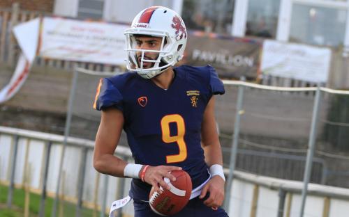 Rohan Sandhu, QB of the UoB American Football side