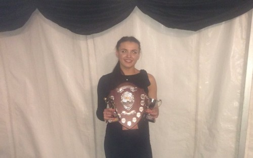 Lucy Parize, winner of the 2017 Sports Person the Year