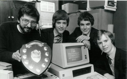 A photo of Mr. Philip Coulson, Stuart Cheshire, Anthony Jones and Nick Tingle.