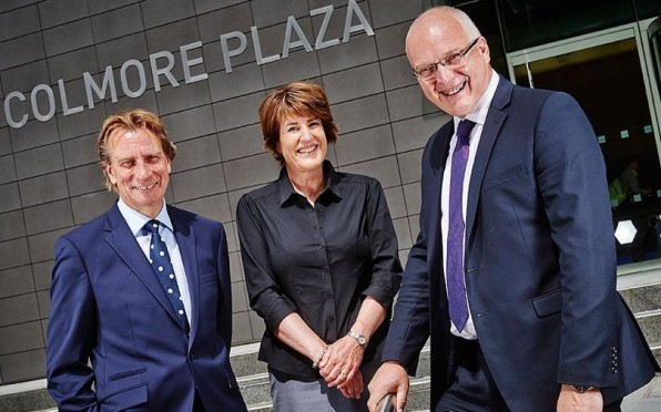 Andy Moore (right) who has launched Bracebridge Corporate Finance in Birmingham, with non-executive