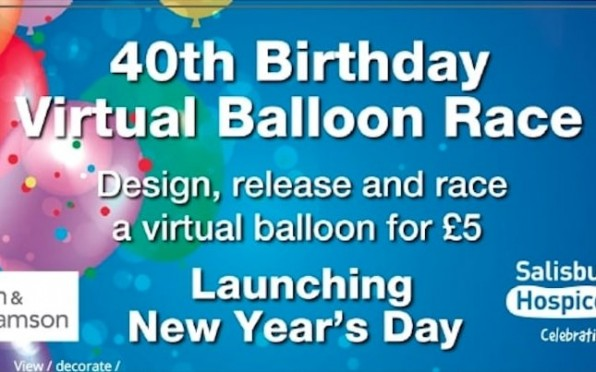 Salisbury Hospice's 2021 New Year's Day Virtual Balloon Race!