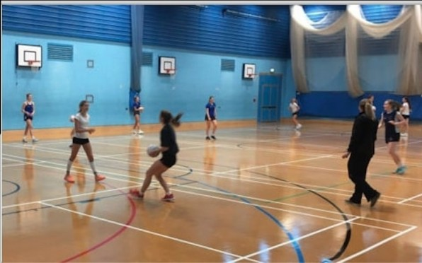 Netball in the BWS Sports Hall