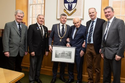 Gallery - Presentation to Past Pupil Billy O'Loghlen Class 1937