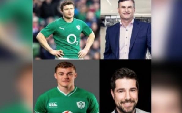 Brian O'Driscoll (1997), Ronan Dunne (1981), Garry Ringrose (2013), Craig Doyle (1989),